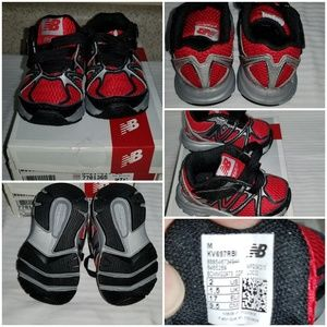 Infant boy running shoes